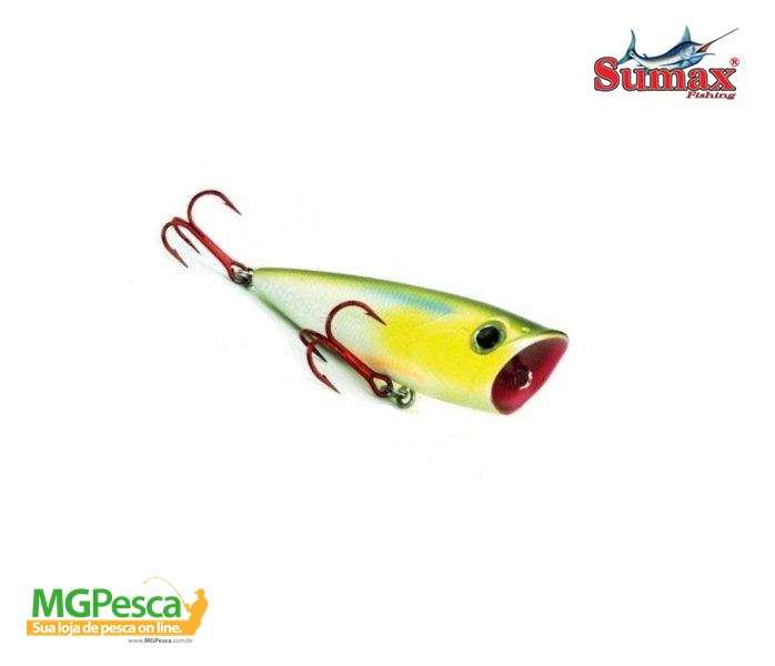 Isca Artificial Sumax Bad Popper 70F  - MGPesca