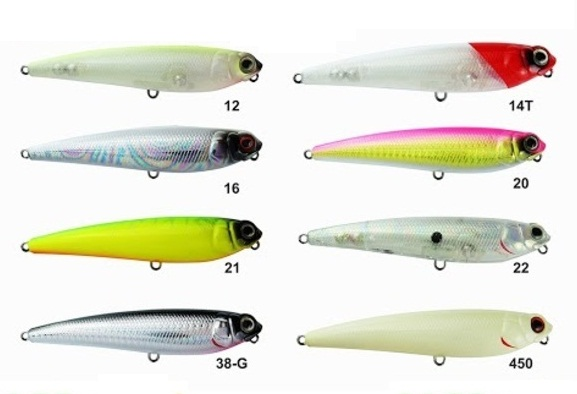 Isca Artificial Marine Sports Ztop 86  - MGPesca
