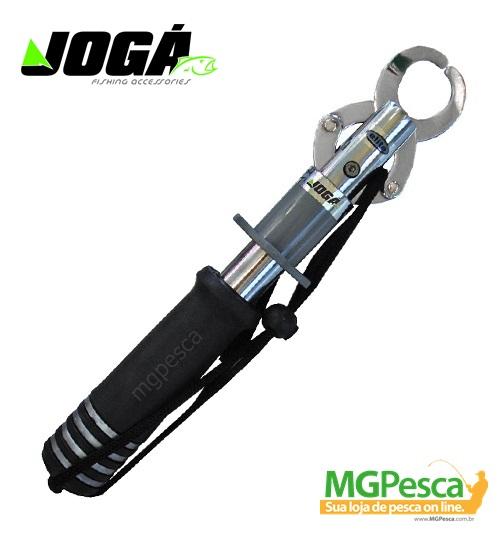 """Alicate de contenção JOGÁ """"Pega Peixe"""" Aluminio - Balança 21Kg  - MGPesca"""