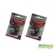 Anzol Marine Sports 12146 Black Nickel - Tamanhos 5/0 - 6/0 - 7/0 - 8/0 - 9/0 - 10/0 - com 10 unidades