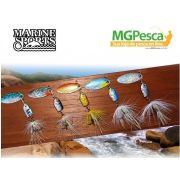 Isca Artificial Marine Sports Spinner Kit MSSP-A-1K5 - 4,4g - 05 unidades