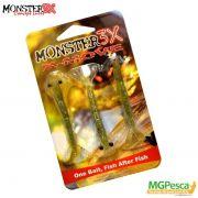 Isca Artificial Monster 3X Camarão X-Move 90 - 9cm