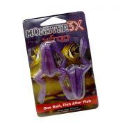 Isca Artificial Monster 3X X-Frog - Embalagem com 2 unidades