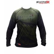 Camisa Monster 3X - New Fish Collection - Robalo Camo