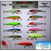 Isca Artificial Capitão Hook TOP 18 - 10cm
