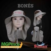Chapéu Sumax com proteção UV e protetor de ombros - SB-1306