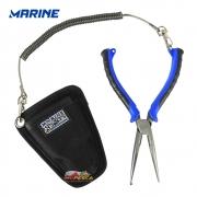 Alicate Marine Sports Fishermans Pliers MS-SRP - Combo c/ bainha e cordão salva varas