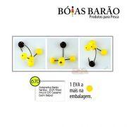 Anteninha Boias Barão Tamba EVA com Miçanga Anzol Sasame 2/0 - Nº 670