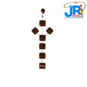 Anteninha JR Pesca Manhoso Chifrão 10mm