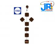 Anteninha JR Pesca Manhoso Chifrão 12mm