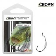Anzol Crown Offset EWG Lastreado Black