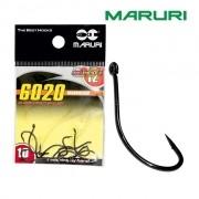 Anzol Maruri 6020 Maruseigo Black Nickel - Cartela com 10 unidades