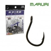 Anzol Maruri Koiso Black Nickel D10401 - Cartela com 20 unidades