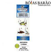Anzol Maruseigo c/ Mola Boias Barão - para Pesca com Massa