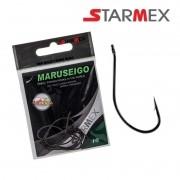 Anzol Star River Starmex Maruseigo Black Nickel - Cartela com 10 unidades