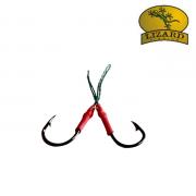 Anzol Suporte Hook Lizard Fishing SH94 Chinu Tamanho 9 - Embalagem com 4 unidades