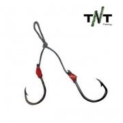 Anzol Suporte Hook TNT Fishing Tamanho 1 - Embalagem com 3 unidades