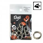 Argola Split Ring Dojô - Cartela com 10 unidades