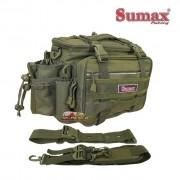 Bolsa de Pesca Sumax SM-1821-V cor Verde - Lançamento