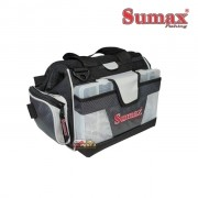Bolsa de Pesca Sumax SM-912-CI - Cinza
