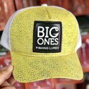 Boné Big Ones - Frontal Amarelo com tela branca