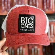 Boné Big Ones - Frontal VErmelho com tela branca