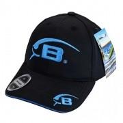 Boné Bomber Lures - Preto com Azul - BNBB002
