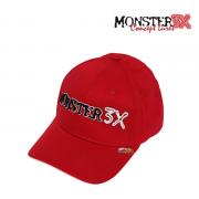 Boné Monster 3X Confort Line - Regulável - Vermelho