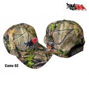 Boné Monster 3x Hunting Camo 02