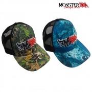 Boné Monster 3X - Série FIT Camo