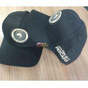 Boné Vida de Pescador - Premium Black BPM 007