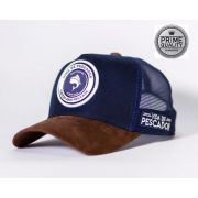 Boné Vida de Pescador - Prime Blue White BPR 008