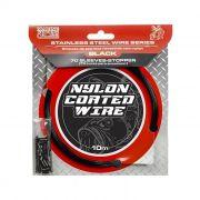 Cabo de Aço Flexível Marine Sports Nylon Coated Wire 10m - Black