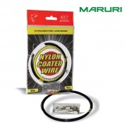 Cabo de Aço Flexível Maruri Nylon Coated Wire 10m - Black Nickel