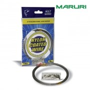 Cabo de Aço Flexível Maruri Nylon Coated Wire 10m - Nickel