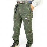Calça Bermuda Mtk Amazon Camuflada Verde - 40 ao 54
