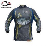 Camisa Faca na Rede Jersey Robalo NC 23