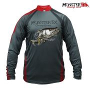 Camisa Monster 3X - New Fish 04 ( ROBALO )