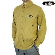 Camisa MTK Sky - Caqui - FPS 50+ ( UVB e UVA )