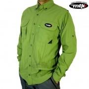 Camisa MTK Sky - Verde - FPS 50+ ( UVB e UVA )