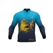 Camisa Presa Viva Dourado 05