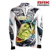 Camiseta BRK Fishing C0184 - Tucuna Azul 2.0