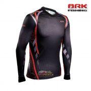 Camiseta BRK Fishing C0124 - Combat Fish Camo Orange