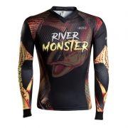 Camiseta BRK Fishing RM003 - River Monster Dourado FPS 50+