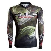 Camiseta BRK Fishing RM006 - River Monster Tambaqui Hulk FPS 50+