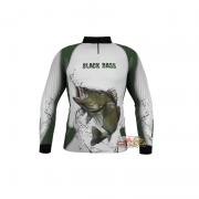 Camiseta Dorsal Sport Black Bass