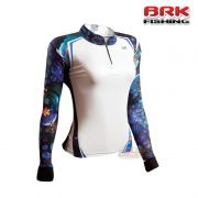 Camiseta Feminina BRK Fishing C0194 - Flowers 02 FPS 50+