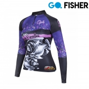 Camiseta Feminina Go Fisher GOG 12 - Tilápia