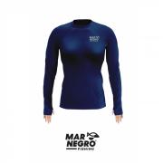 Camiseta Feminina Mar Negro Fishing Poliamida - Marinho Ref. 49272