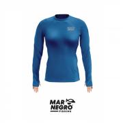 Camiseta Feminina Mar Negro Fishing Poliamida - Petróleo Ref. 49272